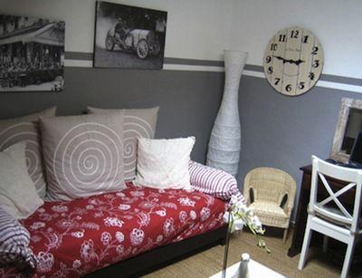 les 25 meilleures id es de la cat gorie demi mur sur. Black Bedroom Furniture Sets. Home Design Ideas