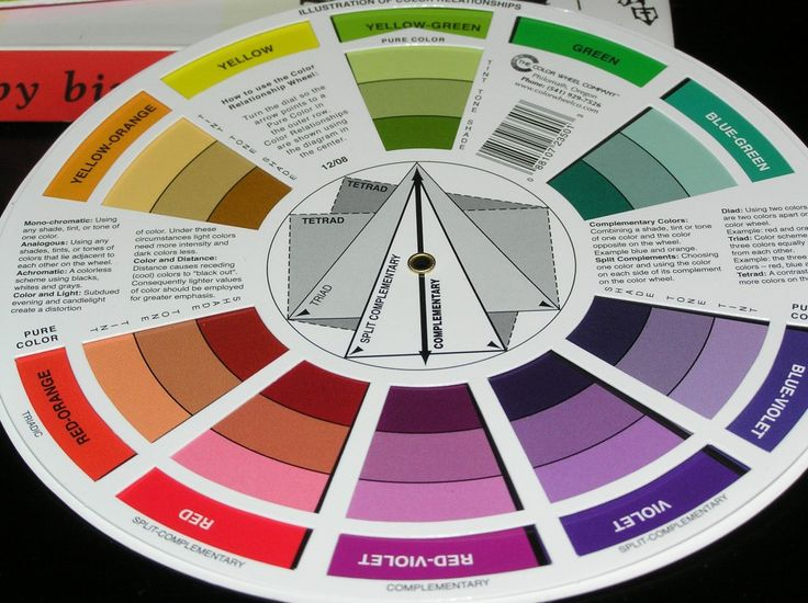28 best Graphic Design - Color wheel images on Pinterest Braces - color wheel chart