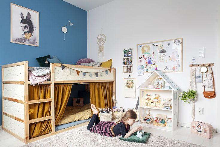 Kreativer Raum einer kleinen Person