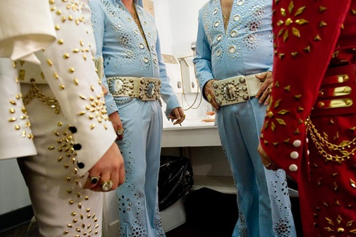 Four Kings (from the Almost Elvis series), by  Landon Nordeman - 20x200.com