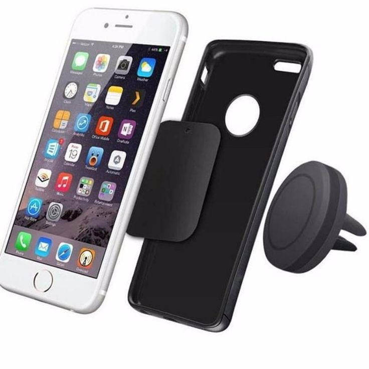 Magnetic Air Vent Mount Holder For iPhone and Samsung models