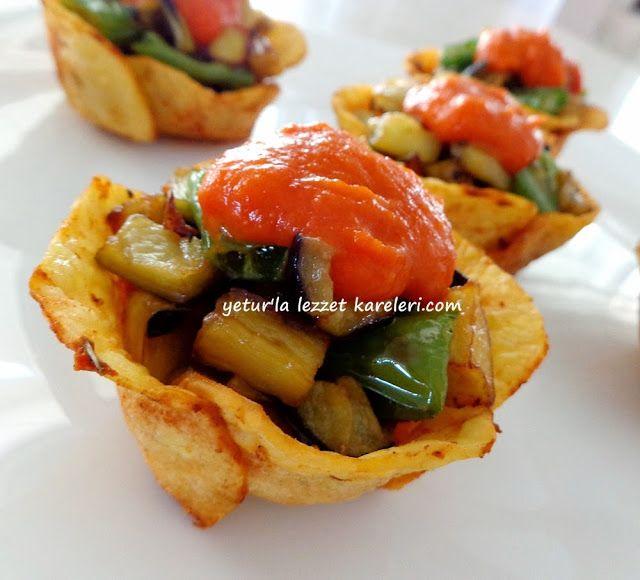 malzemeler: 3 adet patates cips yapımında kullanılan rende ( patatesleri düzgün ve ince dilimlemek için ) zeytinyağı-tuzot pe...