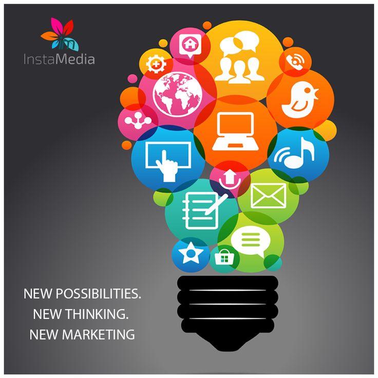New possibilities. New thinking. New marketing.  #instamedia #caymanislands #newmarketing #socialmediamarketing