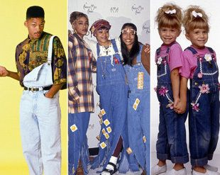Fashion Trend - The '90s are back, and they're bringing their overalls - I don't think they're the WORST thing to wear - especially with Doc Martens, which are back too