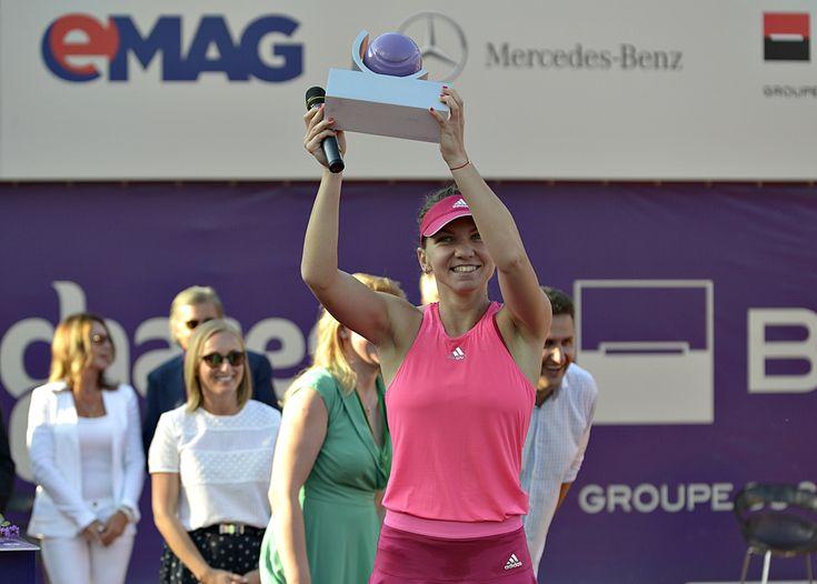 Simona Halep, Bucharest Open winner
