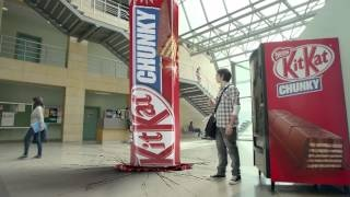 "Kit Kat Chunky ""Silence Your Hunger-Study"" by JWT Dubai - 2012, via YouTube."