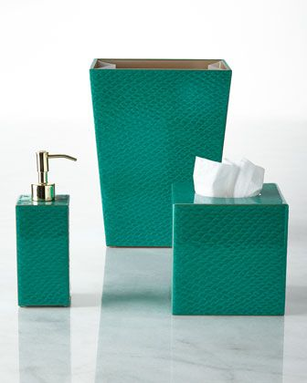 Pacific Vanity Accessories by Mike & Ally at Horchow.
