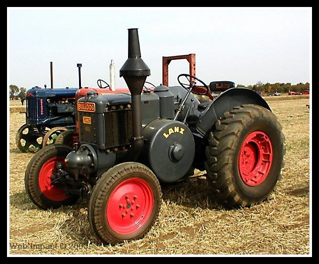 bulldog mowers bulldog lanz tractor old tractors pinterest bulldogs 5373