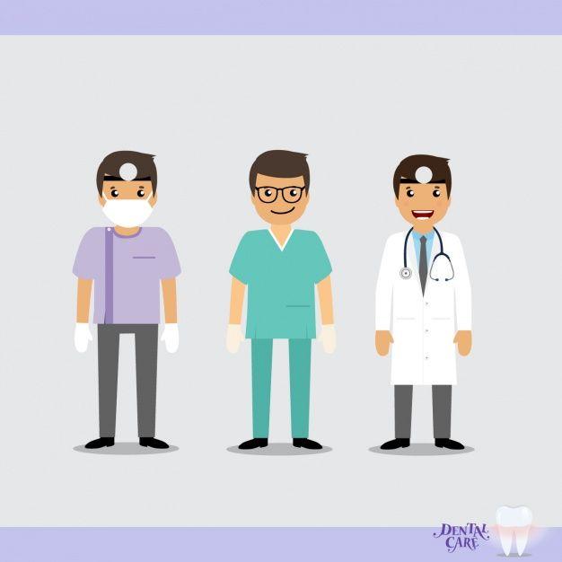 Diseno De Equipo Medico Vector Gratuito Equipo Medico Medicos Cuidado De La Salud