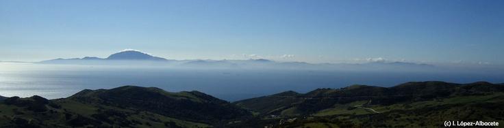 Jebel Musa desde el mirador de #Tarifa