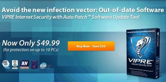VIPRE 10 PC License Discount