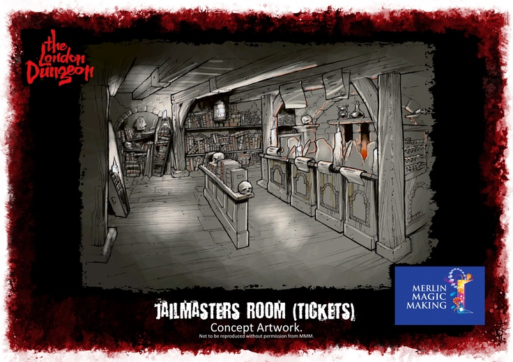 Jail Master room concept art