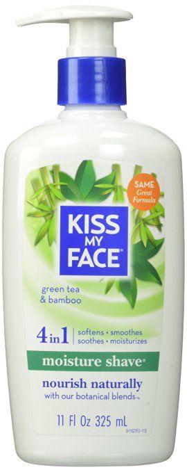 Kiss My Face Vegan Cruelty Free Shaving Cream.  This vegan shaving cream is so cruelty free you won't even hurt yourself! ;)