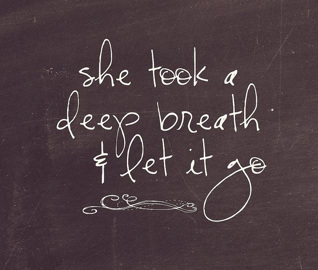 Let it go. #breathe #ed recovery