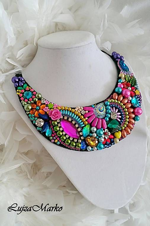 LujzaMarko / Rainbow náhrdelník