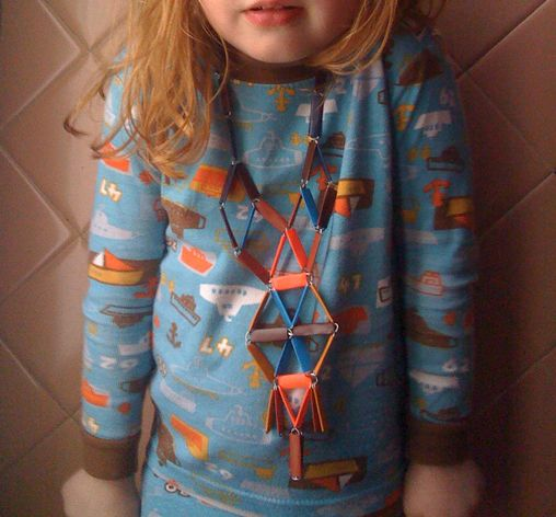 Inspiration: Funny, Children, Paperclip Necklaces, Diy Jewlery, Fashion Kiddies