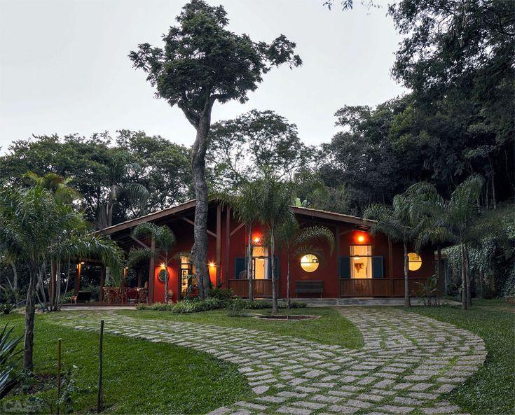1 Casa de campo brasileira no blog Detalhes Magicos