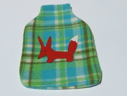 """Hotwater Bottle Cover """"Mr Fox"""""""