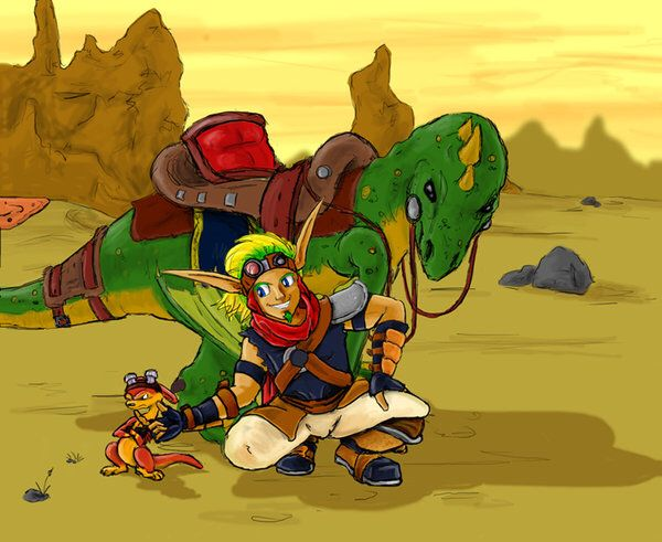 17 Best Images About Jak And Daxter On Pinterest