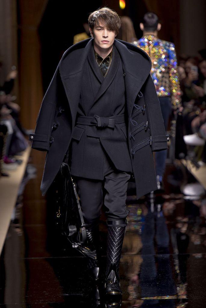 【ルック】「バルマン オム」2016-17年秋冬パリ・メンズ・コレクション | 2016-17 FW PARIS MEN'S COLLECTION | BALMAIN HOMME | COLLECTION | WWD JAPAN.COM