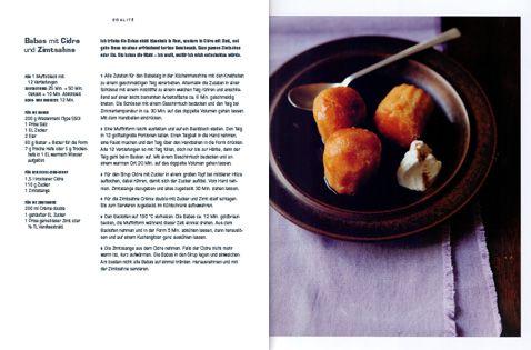Rezept von Daniel Galmiche: Babas mit Cidre und Zimtsahne
