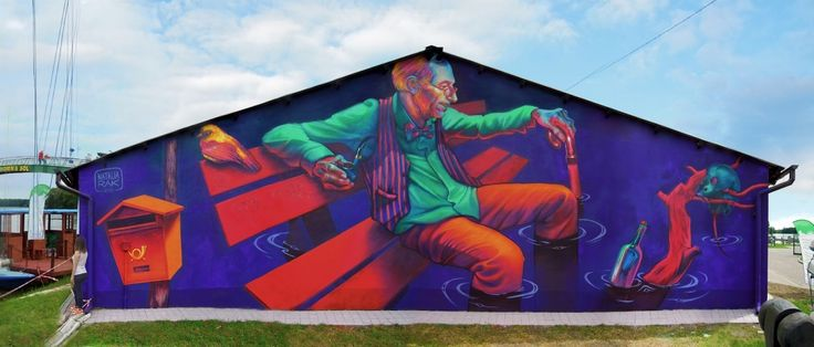 Waiting for tomorrow, Nowa Sól, Polska // murale by Natalia Rak
