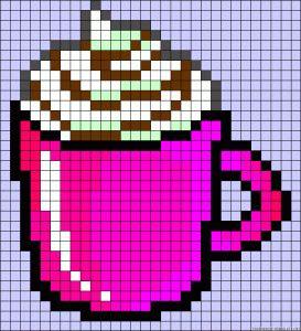 Hamburger Pixel Art Nourriture Kawaii