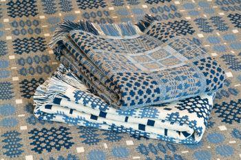 Trefriw Woollen Mills - Welsh tapestry bedspreads and tweeds woven in Snowdonia