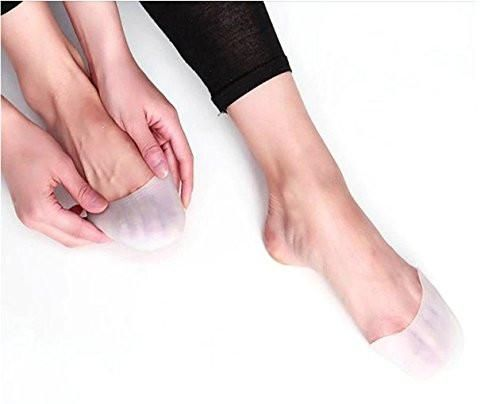 Soft Silicone Toe Protective Cover Protector Ballet Dance Shoes Pad Pain Relieve