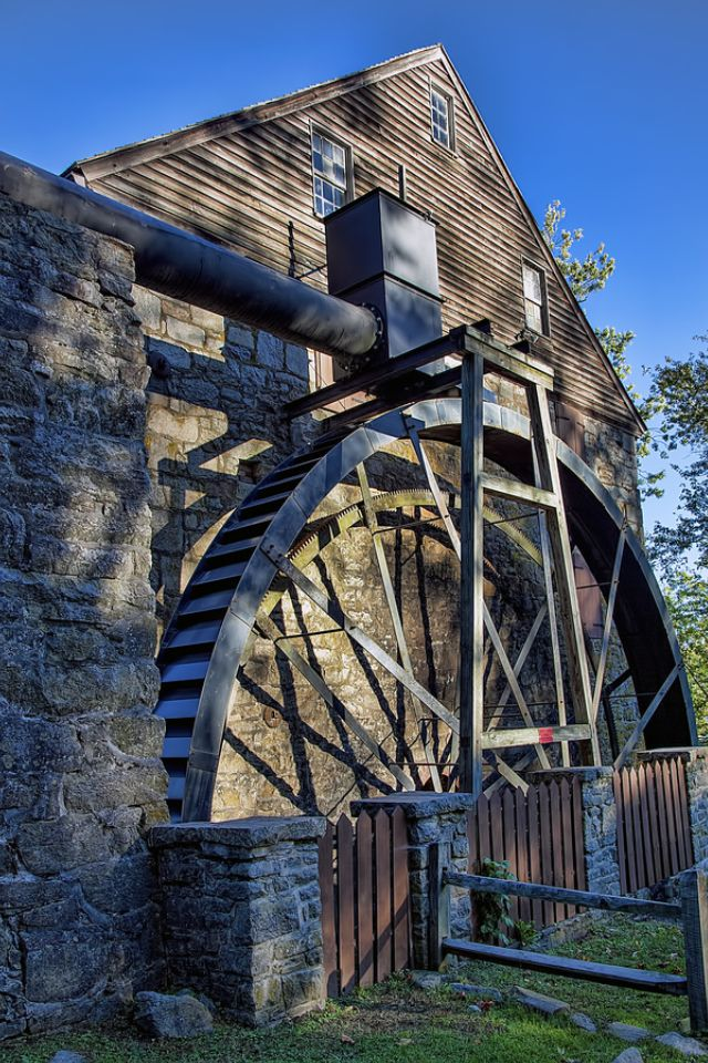 Rock Run Mill, Susquehanna State Park, Havre De Grace, Maryland
