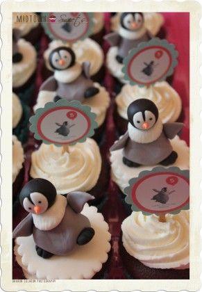 Happyfeet Penguin Cupcakes