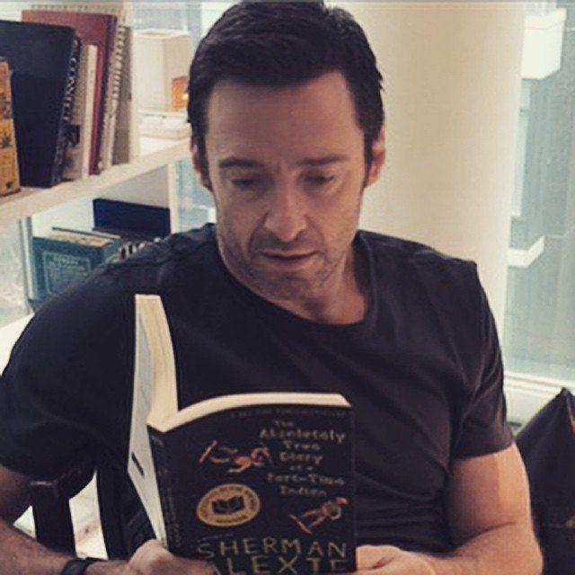 "Hugh Jackman ""Reading. It's fundamental."" #ObiettivoLeggere @libriamotutti"