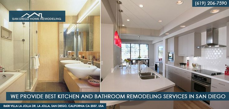 We specialize in Kitchen and Bathroom Remodels for the greater San Diego area, with a focus in customer service and home remodel customization.