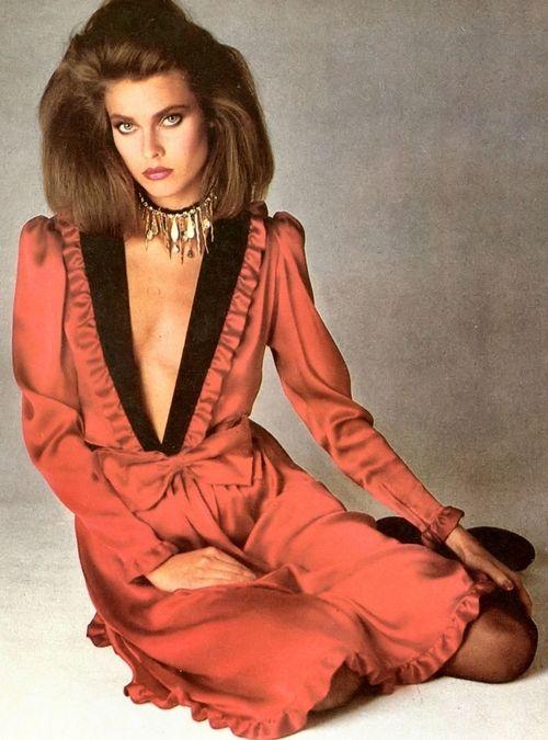 Carol Alt, early 80s