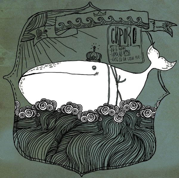 Well hello, Sir Whale. Illustration on Behance