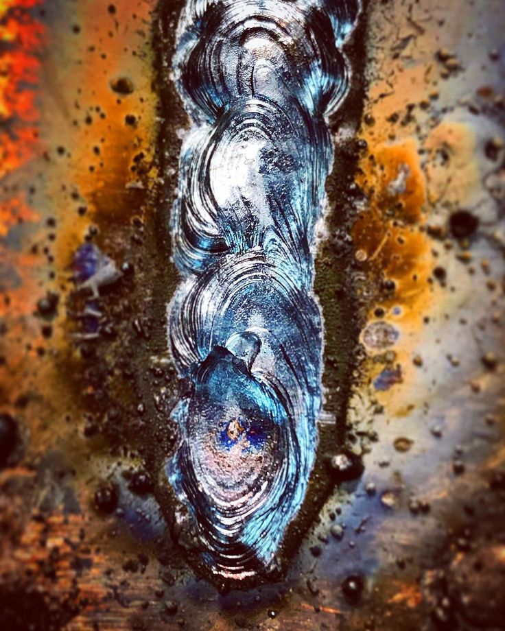 #weld #welding #lincoln #miller #ac225 #stick #rod #arc #arcwelding #puddle #color #swirl