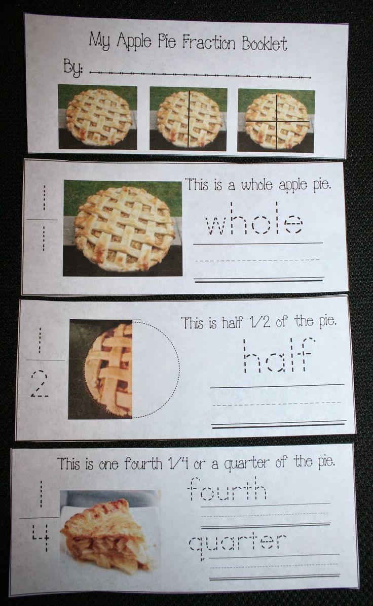 Classroom Freebies: Apple Pie Fractions