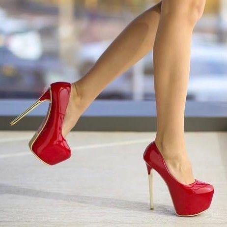 Pantofi Rusola Rosii - Pret: 119.00 Lei http://ift.tt/2nRyuGm #pantoficutoc #pantofi
