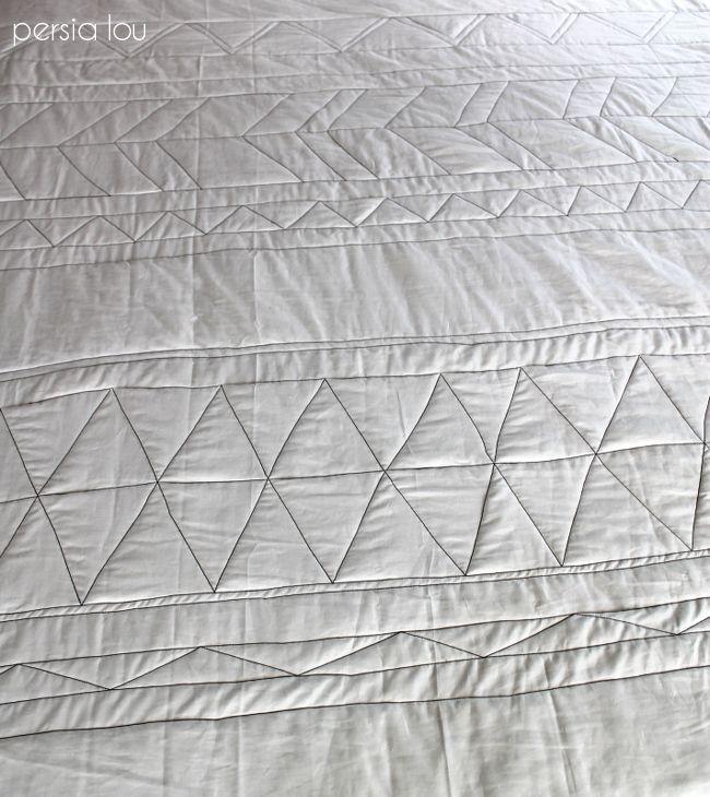 Persia Lou: No-Piece Geometric Quilt Tutorial Part One