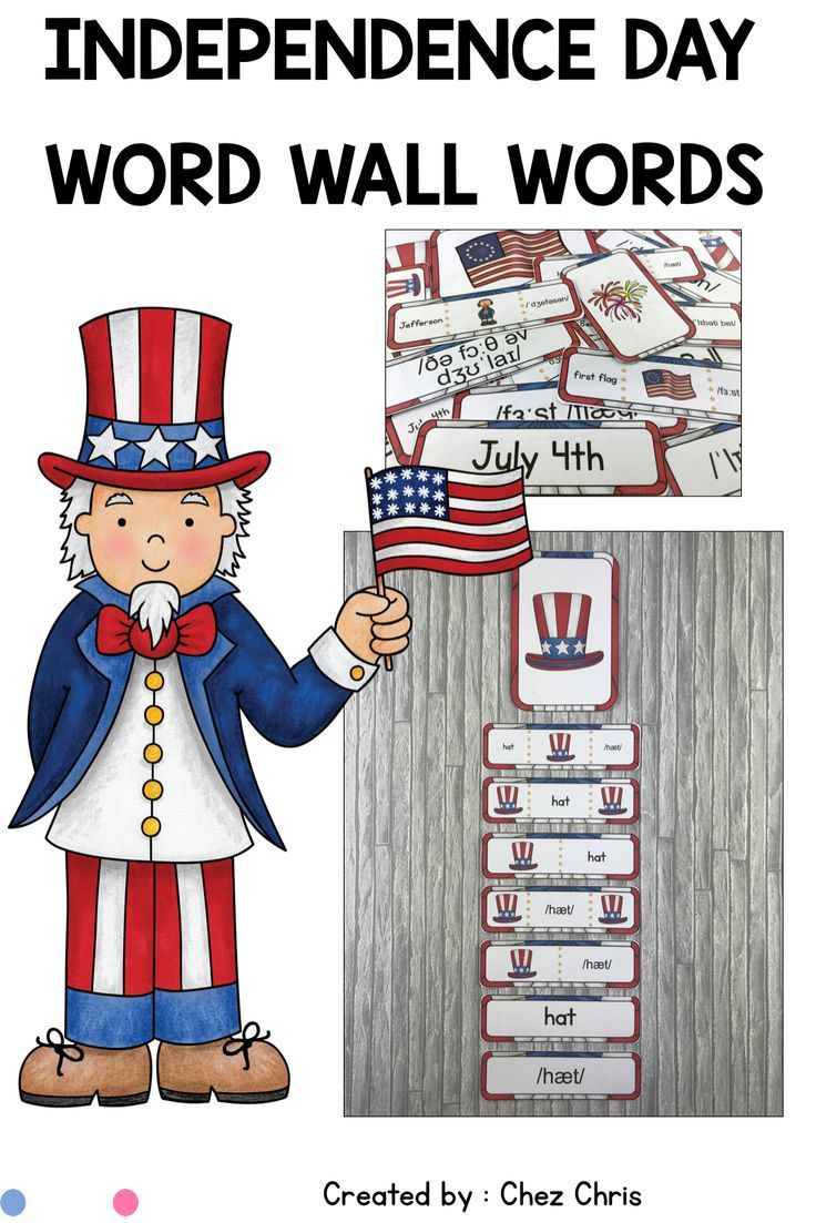 A Word Wall Words Activity Helps Students Learn Vocabulary And For Esl Students They Will Get The Pronu Independence Day Activities Word Wall Independence Day [ 1103 x 736 Pixel ]