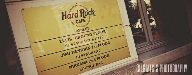 "Athens, Greece ""hard rock Cafe"""