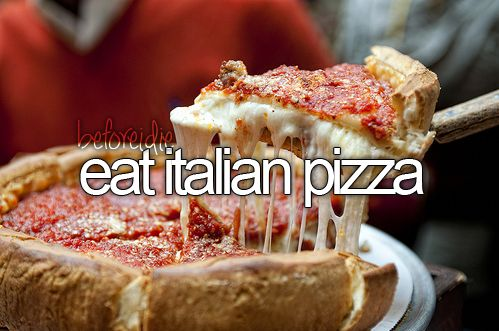 Would love some Italian food just now