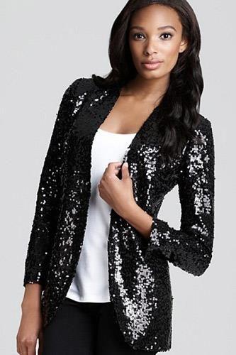 Пиджак с блестками