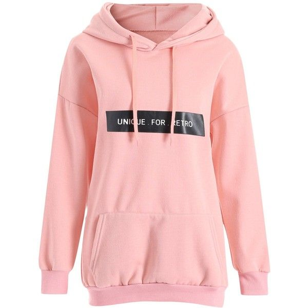 Pink 3xl Plus Size Unique Letter Fleece Kangaroo Hoodie ($19) ❤ liked on Polyvore featuring tops, hoodies, hooded sweatshirt, fleece hoodie, pink hoodies, womens plus size tops and plus size fleece hoodie