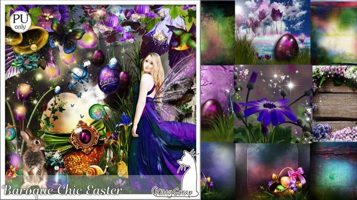 kit Baroque Chic easter by kittyscrap
