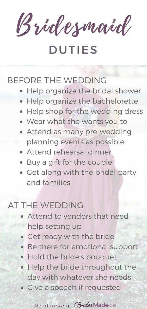 Bridesmaid Duties: Everything You Need To Know Bei…