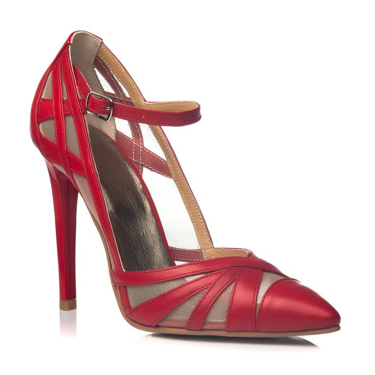 DARE TO WEAR >> Pantofi stiletto Rosu