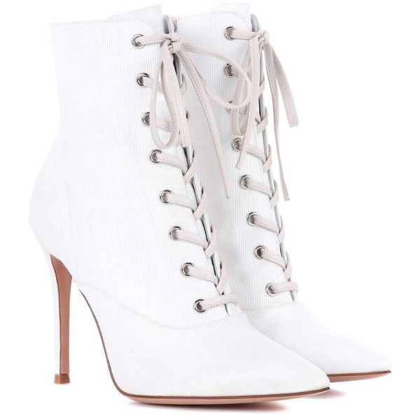 Gianvito Rossi Neville Lace-Up Ankle