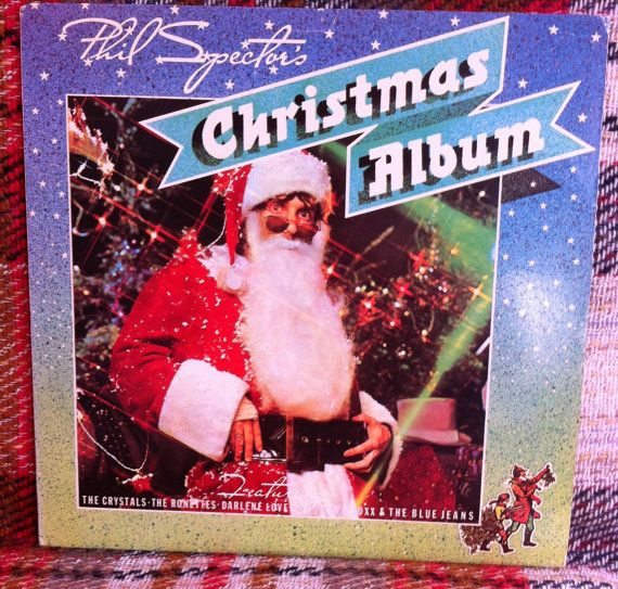 Phil Spector's Christmas Album LP Vinyl Record by chezToulouse