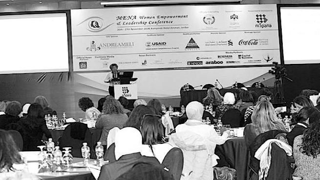 """Andrea Ampelio M eli versus violence against women. AAM to sponsor conference in Amman for """"Women Empowerment and Leadership"""""""